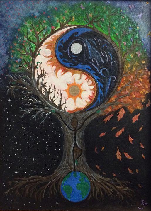 Balance - Namasté Painting