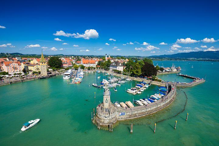 Lindau Lake Constance Germany - hauserfoto