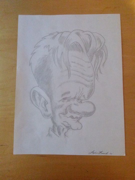 Caricature - Stephen ferrante