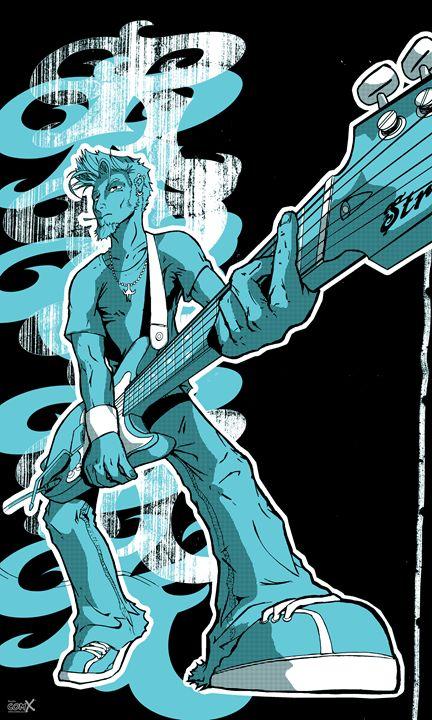 Rock & Roll - Turquoise - Studio ComX