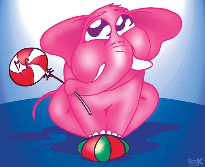 Baby Elephant Pink - Studio ComX