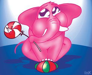 Baby Elephant Pink