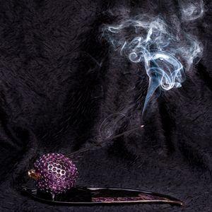 Apple incense stick holder - Stela Ceramics