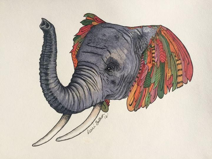 Elephant - Desiré Guthier