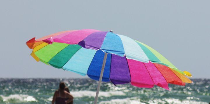 Beach Umbrella - Some where in time