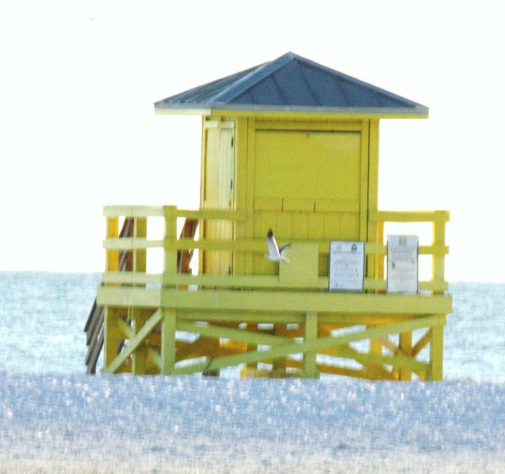 Lifeguard Stand - Some where in time