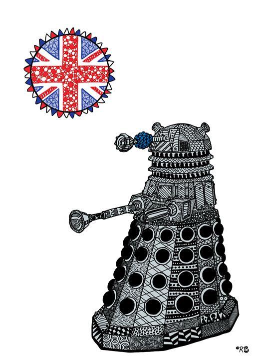 Dalek - Rebecca Bear