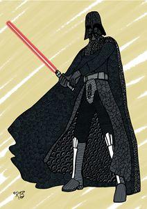 Darth Vader Doodle