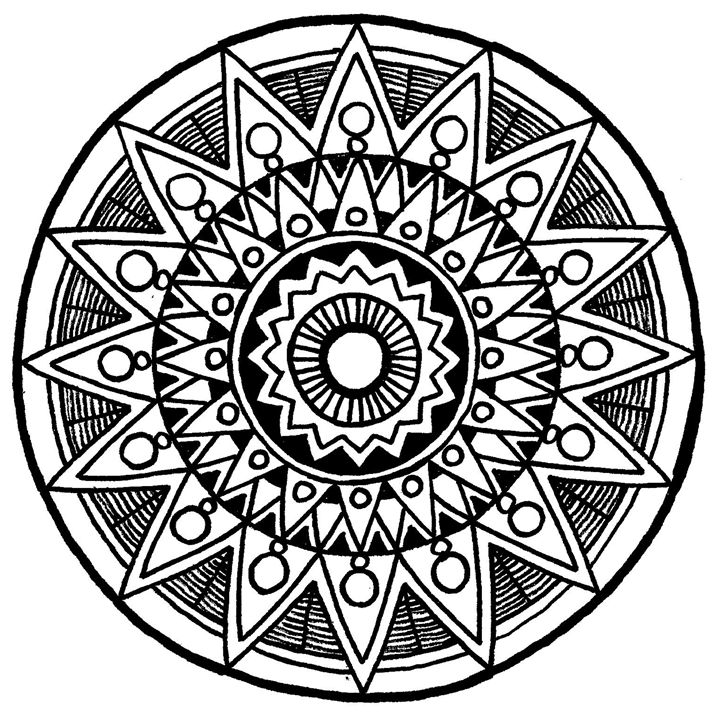 Filipas Mandala - Illustration & Art