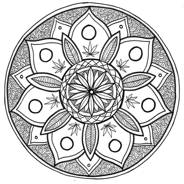 Spring Mandala - Illustration & Art