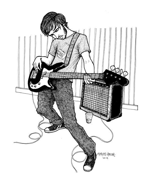 Bass Man - Illustration & Art