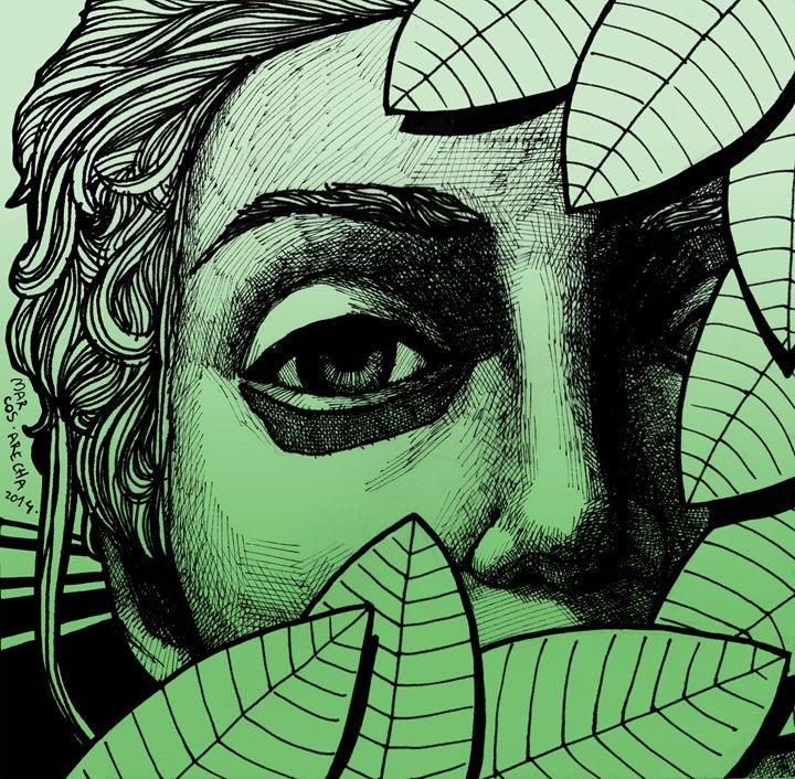 Botanical Girl - Illustration & Art