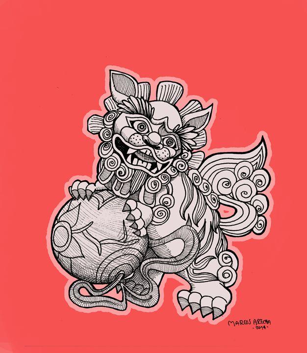 Chinese Dog - Illustration & Art
