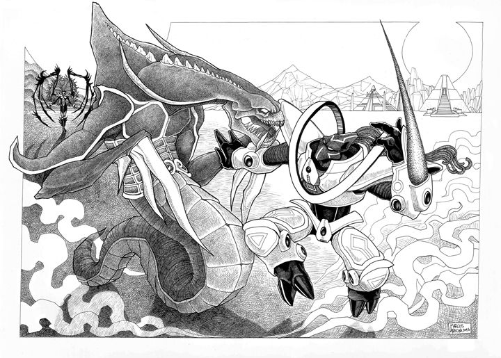 Starcraft - Illustration & Art