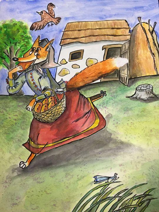 Fox and  pasties - Jane