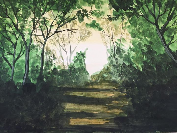 Lights and Shadows in the Forest - Jane