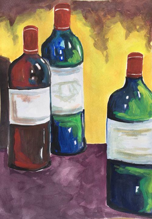 Wine Bottles - Jane