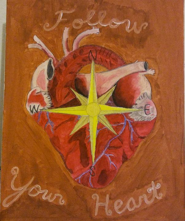 Follow your heart - Jett paintings