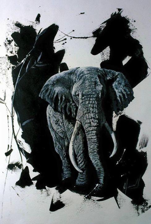 Elephant - Harold Garcia Z Art