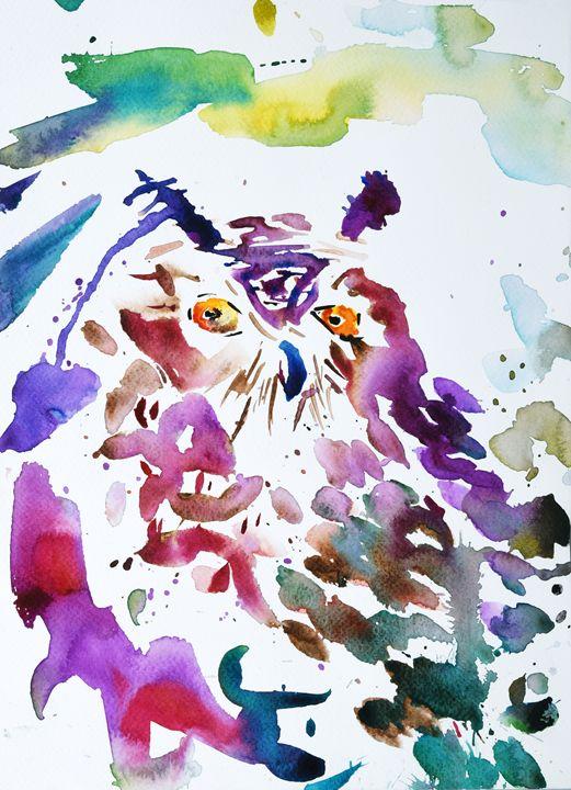 The owl - Cvetomir Panayotov