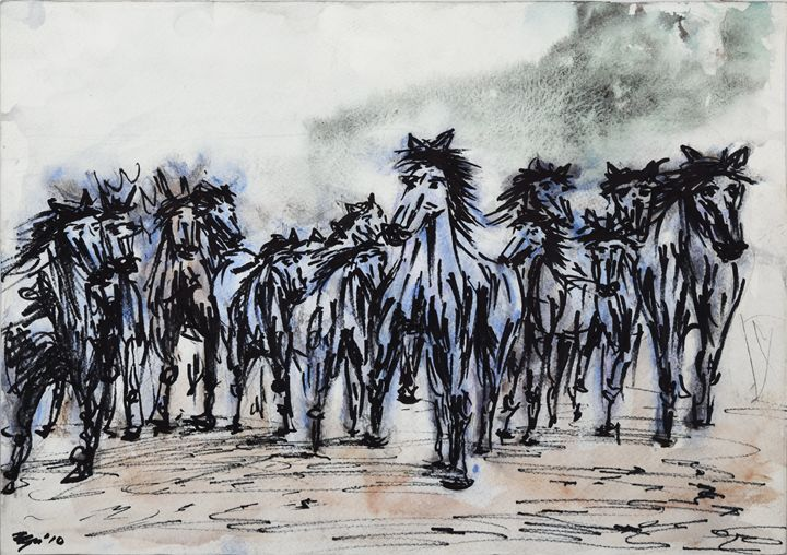 Horses - Cvetomir Panayotov