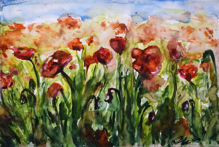 Poppy field - Cvetomir Panayotov