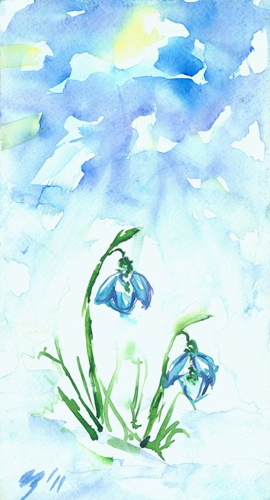 Snowdrops - Cvetomir Panayotov
