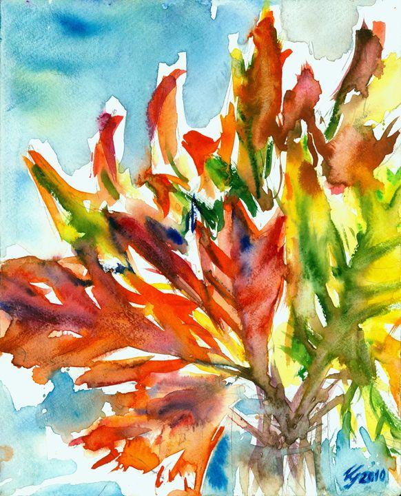 Autumn leaves - Cvetomir Panayotov