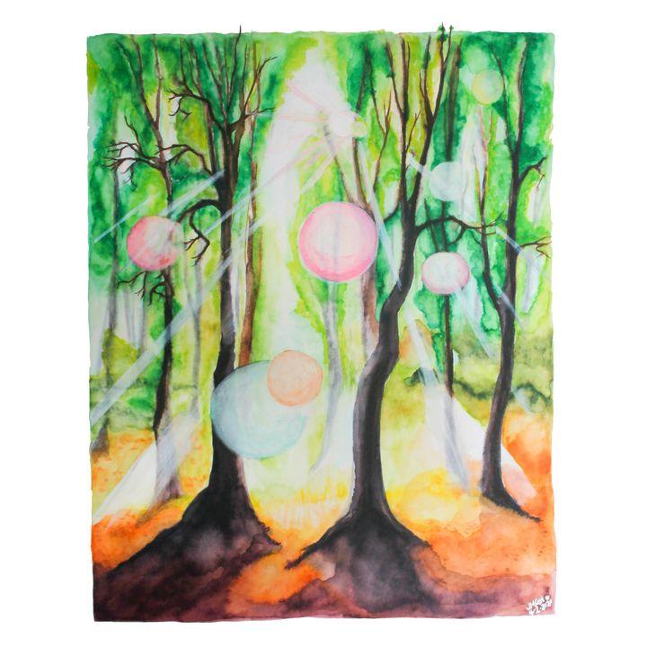 Light in the Trees (2020) - Jen Hernandez Art