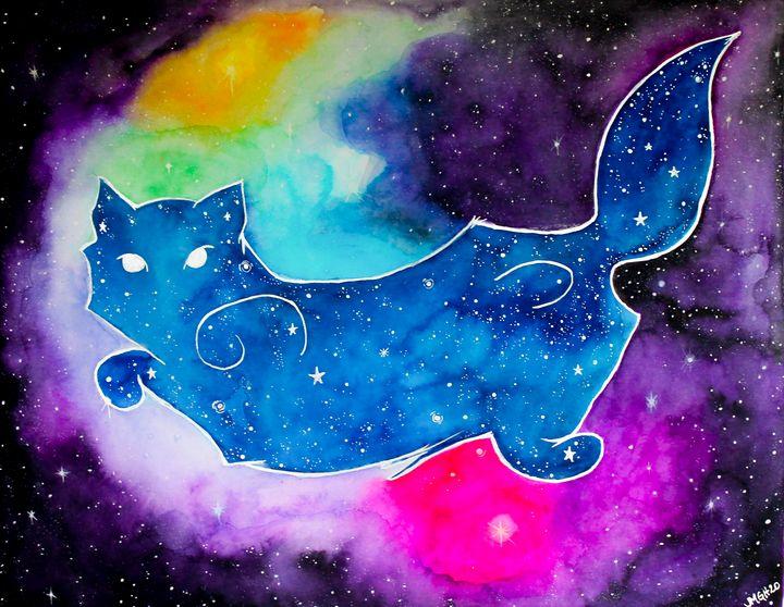 Cosmic Cat - Jen Hernandez Art
