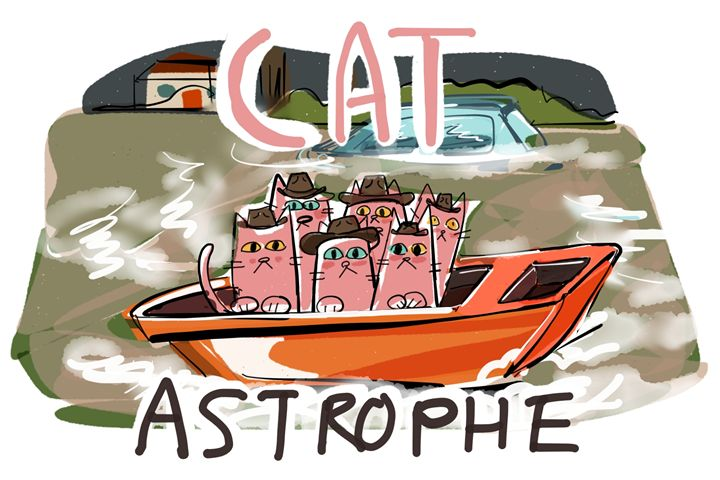 CATastrophe - dailycatfeine