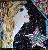 34x38in Fabric Art