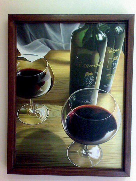 red wine glass - Soorena