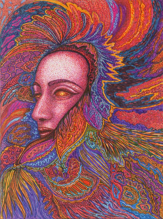 Queen of Feathers - Georgia Cotenas