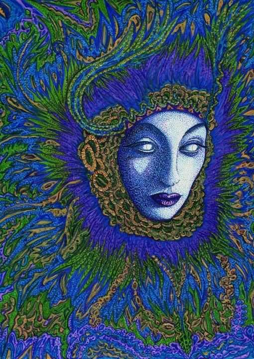 Mother Peacock - Georgia Cotenas