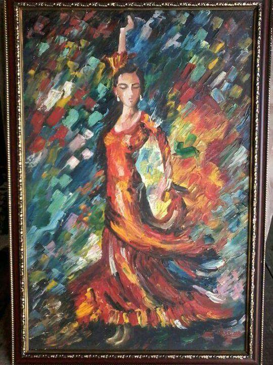Knife Painting - Art Garima