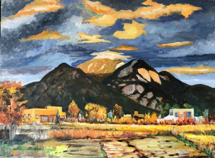 Taos Sunset - Merano Arte
