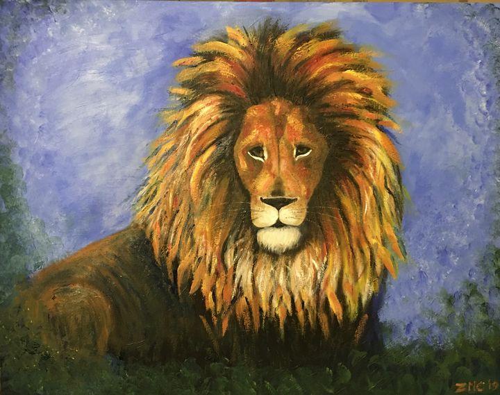 Lion - Zachia Middlechild Art