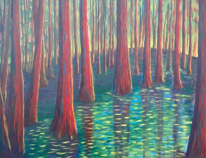 Trees - Zachia Middlechild Art