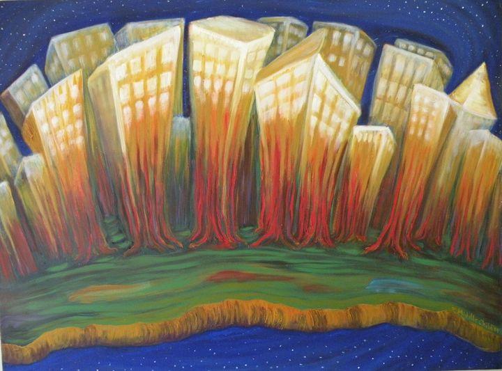 City - Zachia Middlechild Art