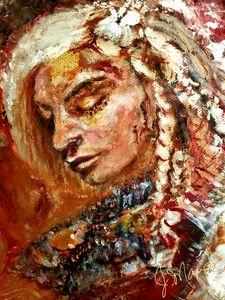 God Princess Warrior (head)