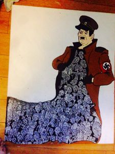 Hitler painting x