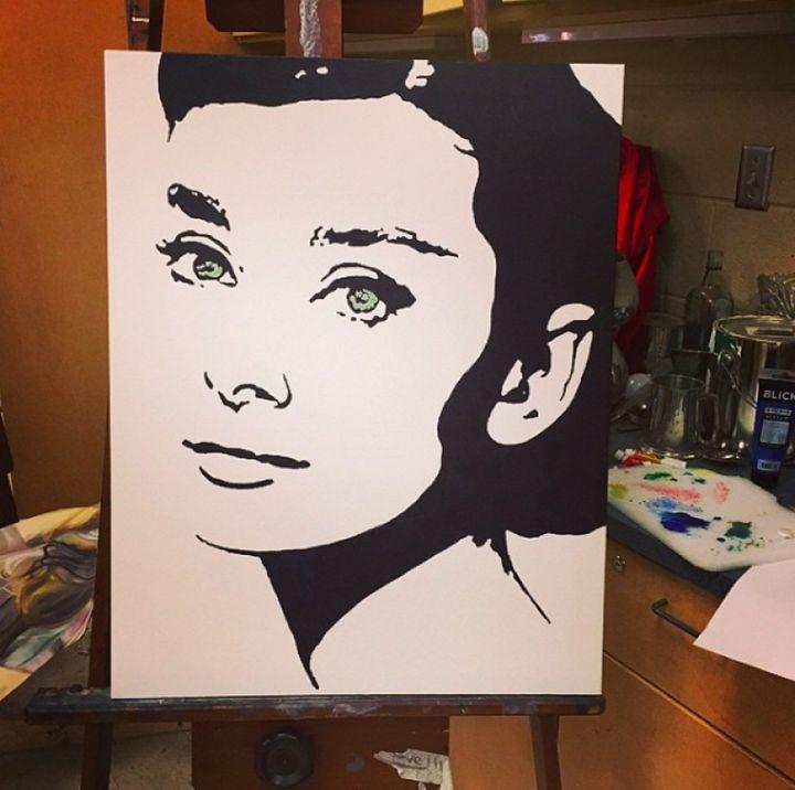 Audrey Hepburn - Haley Page
