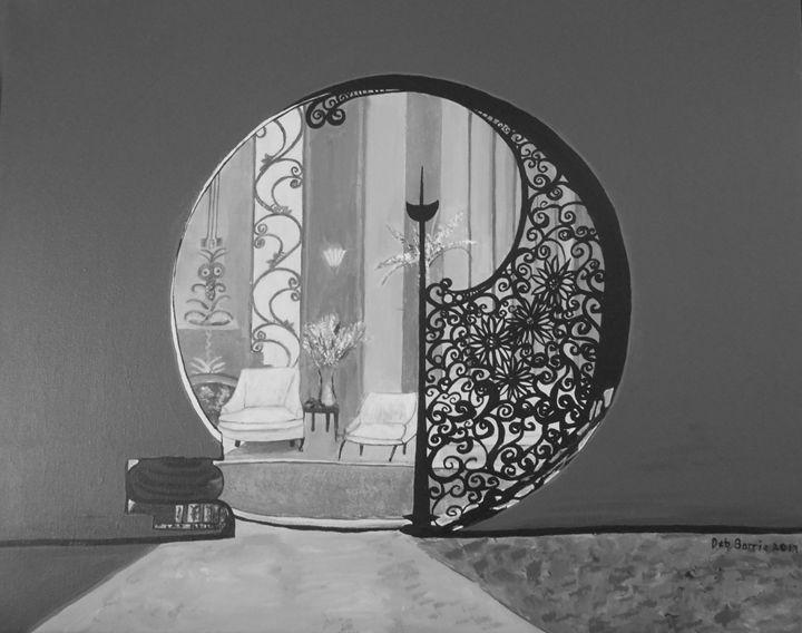 Art Deco in Black - Debra Barrie