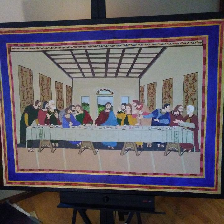 last supper copy. - Don's Paintings