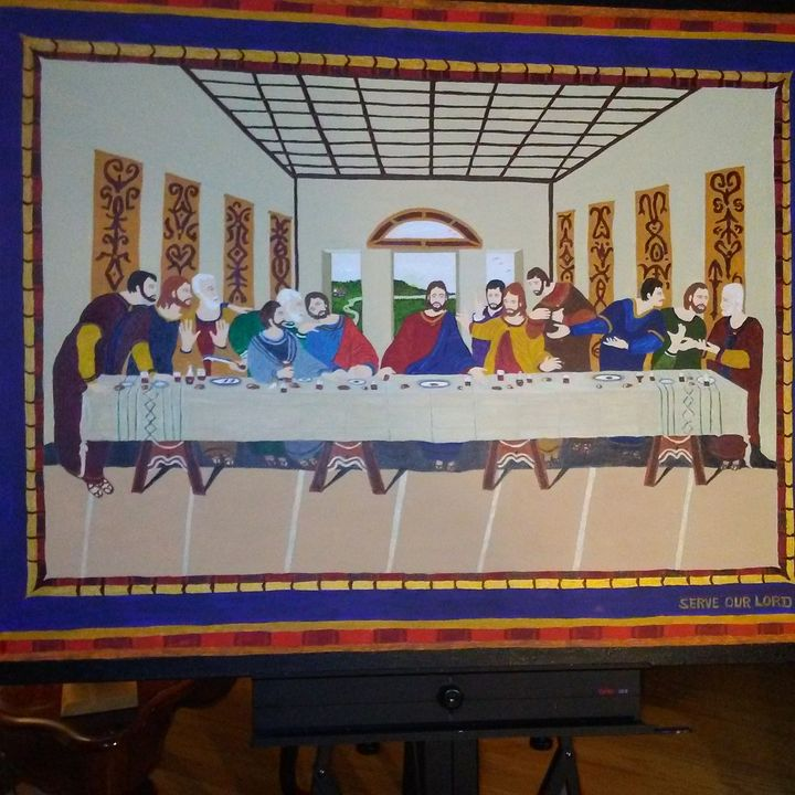 LAST SUPPER COPY - Don's Paintings