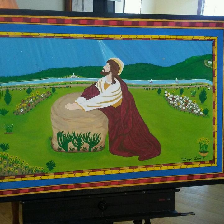 Jesus Praying - Don's Paintings