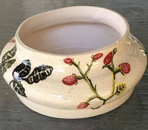 Flowery bowl