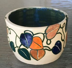 Flowerful bowl