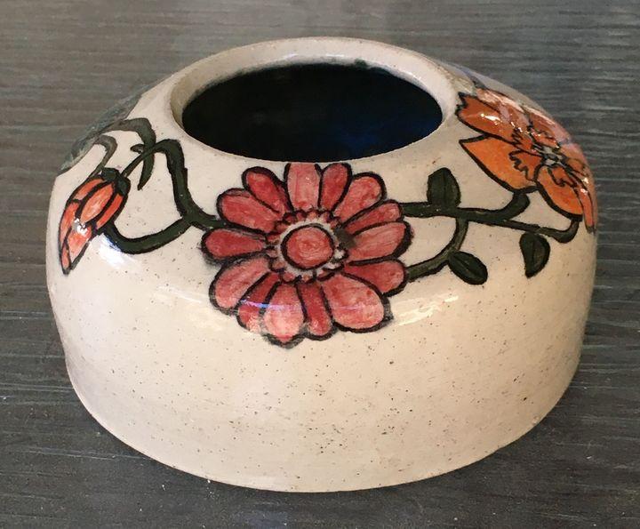Flowered vase - Http:/ArtPal.com/Smoakmule